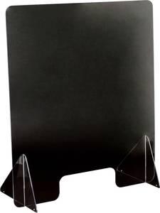 Vírus elleni plexi védőfal, polikarbonát, 570 x 650 x 3 mm, SP 650-580