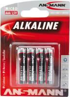 Mikroelem Alkáli mangán Ansmann LR03 Red-Line Ansmann