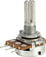 TRU COMPONENTS RV16AF-20-20K-A22K-30H4 Forgató potenciométer 0.06 W 22 kΩ 1 db TRU COMPONENTS