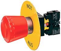 Siemens Alátét tábla kerek (Ø) 19 mm NOT-AUS Sárga 1 db Siemens