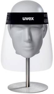 Fejpántos arcvédő, párásodás mentes, átlátszó, DIN EN 166, Uvex 9710 PET 9710514 Uvex