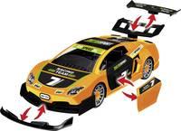 Revell 00832 Pull Back Racing Car, orange Autómodell építőkészlet Revell