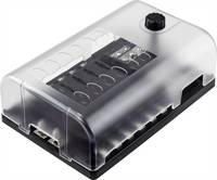 TRU COMPONENTS Autó biztosítéktartó Állapotjelzővel Alkalmas Lapos biztosíték 30 A 32 V/DC 1 db TRU COMPONENTS