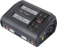 VOLTCRAFT V-Charge 200 Duo Modell töltő 10 A Lítiumion, LiFePO, LiHV, LiPolimer Kisütés funkció, Hőmérséklet felügyelet VOLTCRAFT