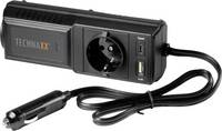Technaxx Inverter TE21 200 W 12 V/DC - 230 V/AC Technaxx