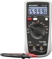 VOLTCRAFT VC190 Kézi multiméter digitális CAT III 600 V Kijelző (digitek): 6000 VOLTCRAFT