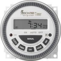 Előlapba építhető időkapcsoló óra Digitális 230 V/AC 16 A/250 V