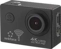 Akciókamera webkamera funkcióval 4K, Full HD, Renkforce AC4K 120 Renkforce