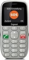 Gigaset GL390 Mobiltelefon időseknek Ezüst Gigaset