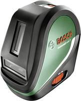 Bosch Home and Garden UniversalLevel 3 + TP320 Keresztvonalas lézer Táskával, Önszintező Hatótáv (max.): 10 m Bosch Home and Garden