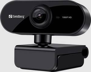 Full HD webkamera 1920 x 1080 pixel, Sandberg Flex Sandberg