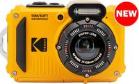 Kodak PIXPRO WPZ2 Digitális kamera 15 Megapixel Optikai zoom: 4 x Sárga Akkuval, Vakuval Képstabilizálás, WiFi, Vízálló, Kodak PIXPRO