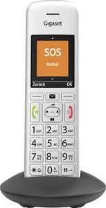Gigaset E390HX DECT mobil egység Ezüst-fekete Gigaset