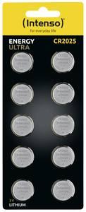 Intenso Energy Ultra Gombelem CR 2025 Lítium 160 mAh 3 V 10 db Intenso