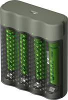 GP Batteries Mainstream-Line 4x ReCyko+ Micro Hengeres akku töltő Akkukkal NiMH Mikro (AAA), Ceruza (AA) GP Batteries