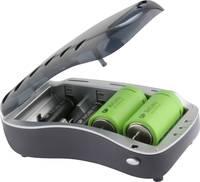 GP Batteries Universal Hengeres akku töltő NiMH Mikro (AAA), Ceruza (AA), Baby (C), Góliát (D), 9 V-os GP Batteries