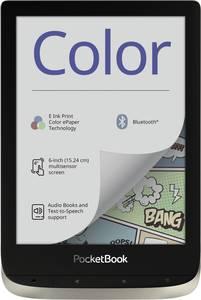 PocketBook Color - moon silver E-könyv olvasó 15.2 cm (6 coll) Moon Silver PocketBook