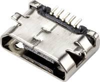 Beépített aljzat Micro-USB 2.0, B típus Alj, beépíthető, vízszintes Micro-USB 2.0 Typ-B TRU COMPONENTS Tartalom: 1 db TRU COMPONENTS