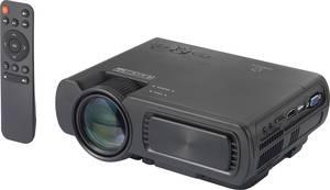 Mini LED-es projektor 3200 lm 800 x 480 WXGA 2000:1, Renkforce RF-PJ-300 Renkforce