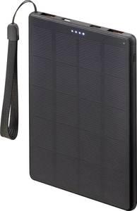 VOLTCRAFT SL-100VC Napelemes powerbank Töltőáram napelem (max.) 400 mA 2 W Kapacitás (mAh, Ah) 10000 mAh VOLTCRAFT