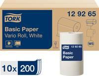 TORK Normál papír törlőkendők a W5 kis tekercses rendszerhez, 2 rétegű 129265 TORK