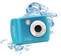 """Easypix W2024""""Splash"""" Digitális kamera 16 Megapixel Kék Víz alatti kamera Easypix"""