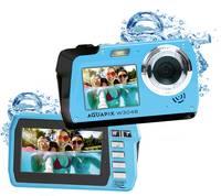 """Easypix W3048-I """"Edge"""" Digitális kamera 48 Megapixel Jég, Kék Víz alatti kamera, Elülső kijelző Easypix"""