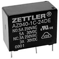 Zettler Electronics AZ940-1AB-12DS Nyák relé 12 V/DC 10 A 1 záró 1 db Zettler Electronics
