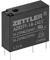 Zettler Electronics AZ9371-1A-5DE Nyák relé 5 V/DC 5 A 1 záró 1 db Zettler Electronics