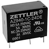 Zettler Electronics AZ940-1AB-24DS Nyák relé 24 V/DC 10 A 1 záró 1 db Zettler Electronics