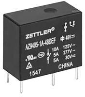 Zettler Electronics AZ9405-1A-24DSEF Nyák relé 24 V/DC 10 A 1 záró 1 db Zettler Electronics