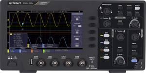 VOLTCRAFT DSO-2104 Digitális oszcilloszkóp 100 MHz 4 csatornás 1 GSa/mp 80 kpts 8 bit Digitális memória (DSO) VOLTCRAFT