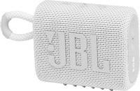 JBL Go 3 Bluetooth hangfal Vízálló, Porálló Fehér JBL