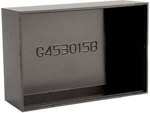 Gainta G453015B Öntvény műszerdobozok 45 x 30 x 15 ABS műanyag Fekete 1 db Gainta