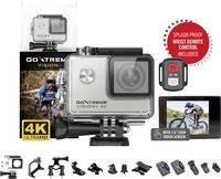 Easypix GoXtreme Vision 4K + Akciókamera 4K, Fröccsenő víz ellen védett, WLAN, Vízálló , Érintőkijelző Easypix