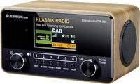 Albrecht DR 865 Asztali rádió DAB+, URH AUX, DAB+, URH Akadálymentes, Táviránytóval, Billentyűzár, Ébresztő funkció Fa Albrecht