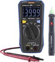 Digitális kézi multiméter feszültségvizsgálóval CAT III 600 V, 4000 digit, Basetech Basetech