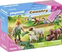 """Playmobil® Country Geschenkset """"Bäuerin mit Weidetieren"""" 70608 Playmobil"""