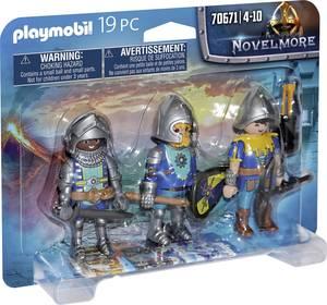 Playmobil® Novelmore 3 részes készlet Novelmore Ritter 70671 Playmobil