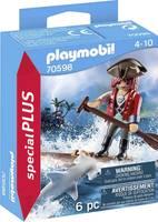 Playmobil® specialPLUS Pirat mit Floß und Hammerhai 70598 Playmobil