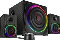 SpeedLink SL-830100-BK 2.1 Számítógép hangszóró Bluetooth™, Vezetékes, USB 60 W Fekete SpeedLink