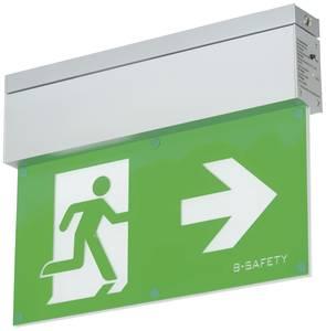 B-SAFETY BR559080 LED-es menekülési útvonal vészvilágítás Mennyezetre történő szerelés Kimenet, Mentési útvonal, jobb, b B-SAFETY