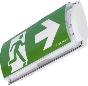 B-SAFETY BR561030 LED-es menekülési útvonal vészvilágítás Fali felépítés szerelés Kimenet, Mentési útvonal, jobb, bal B-SAFETY