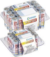 Conrad energy Elemkészlet Ceruza, Mikro 48 db Dobozzal Conrad energy
