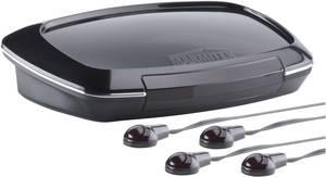 Infravörös távirányító vezérlő bővítő készlet, Marmitek Invisible Control4 Black Marmitek