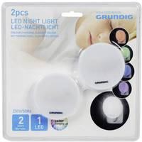 Éjszakai fény Kerek LED (RGB) RGBW Grundig Fehér Grundig
