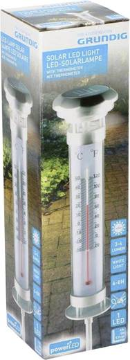 Napelemes kerti analóg hőmérő, Grundig