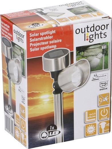 Napelemes kerti lámpa LED