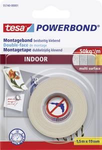 Tesa kétoldalas ragasztószalag extra erős ragasztó felülettel, fehér 1,5mx19mm tesa