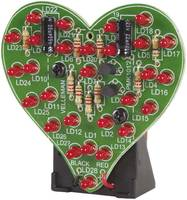 Villogó szív építőkészlet, Velleman MK101 Velleman